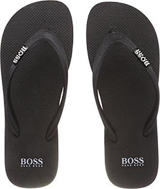 Boss Athleisure Wave_thng_Lux, Chanclas para Hombre, Blanco (White 100), 43/44 EU HUGO BOSS