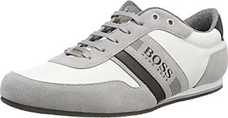 Boss Green Parkour_Runn_Tech, Sneakers Basses Homme, Blanc (Open White), 46 EU