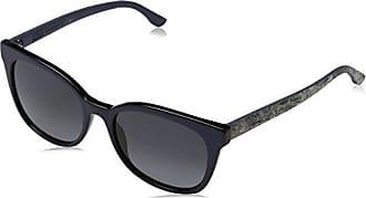 Hugo Boss Damen Sonnenbrille Boss 0893/S 9O UI5, Schwarz (Blk Blkrubbe/Dark Grey Sf), 53