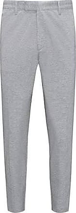 Marled stretch-jersey chinos with a skinny leg HUGO BOSS SDfk2sUfg