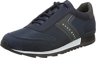Lighter_lowp_mesh Vert Patron, Zapatillas Para Hombre, Azul (bleu Foncé 401), 46 Eu