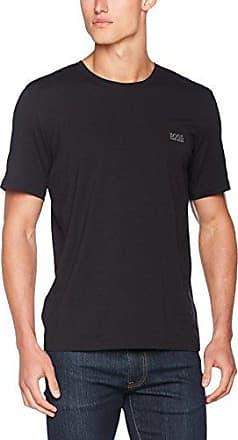 Demeos, Camiseta para Hombre, Negro (Black 001), Large HUGO BOSS