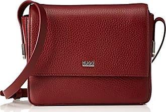 HUGO BOSS HUGO Nynka-r 10195833 01, Sacs portés épaule femme, Rot (Dark Red), 7x15x19 cm (B x H T)
