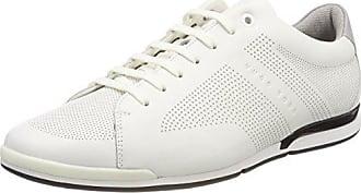 BOSS Athleisure Saturn_Lowp_lux, Sneakers Basses Homme, Bleu (Dark Blue 401), 46 EU