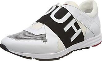 HUGO Damen Uptown Asya-ST Slip on Sneaker, Schwarz (Black 001), 40 EU