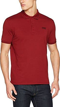 Daruso, Camiseta para Hombre, Rojo (Dark Red 606), Large HUGO BOSS