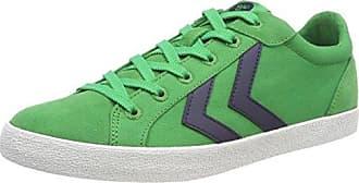 Hummel Deuce Court Summer, Zapatillas Unisex Adulto, Verde (Fern Green), 36 EU