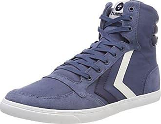 Hummel Slimmer Stadil High - Sneaker a collo alto Unisex Adulto, Blu (Dress Blue/White Kh 7647), 48 EU