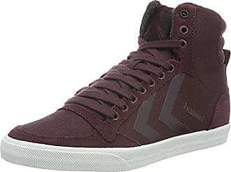 hummel Nordic Roots Hike, Sneakers Hautes Mixte Adulte, Rouge (Cabernet), 39 EU