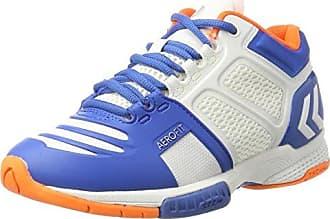 Unisex Adults Aerocharge Hb 220 Fitness Shoes, Bleu Marine/Rouge VIF, 10.5 Hummel
