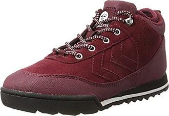 hummel Stadil Winter, Sneakers Hautes Mixte Adulte, Rouge (Eggplant), 42 EU