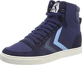 hummel Stockholm Suede Mid, Sneakers Hautes Mixte Adulte, Marron (Inca Gold), 40 EU