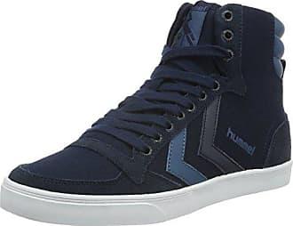 Hummel Slimmer Stadil High TW, Zapatillas Altas Unisex Adulto, Azul (Vintage Indigo 8588), 41 EU