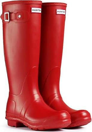 Damen Hunter Original Tall Winter Regen Festival Gummistiefel Stiefel - Militär Rot - 42 Hunter VQ9eOv