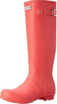 Hunter Womens Org Tall, Bottes & bottines de pluie femme, Rouge (Military Red), 40 EU