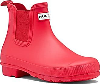 Hunter Womens Original Chelsea für Damen (rot / 36) bbbv5