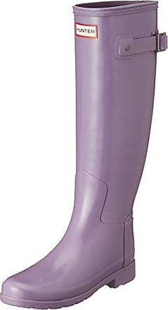 Hunter Original Gloss Short Thundercloud, Schuhe, Stiefel & Stiefeletten, Gummistiefel, Lila, Female, 35