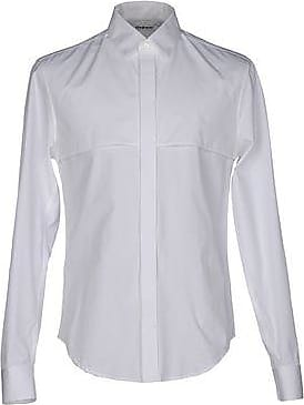 split sleeve mandarin collar shirt - White Hussein Chalayan Clearance Wiki Shop For Cheap Price Exclusive Cheap Price Pay With Visa For Sale 1XqUZo