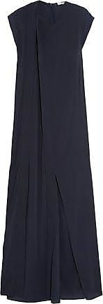 Chalayan Woman Draped Satin-crepe Gown Black Size 40 Hussein Chalayan 386uVi