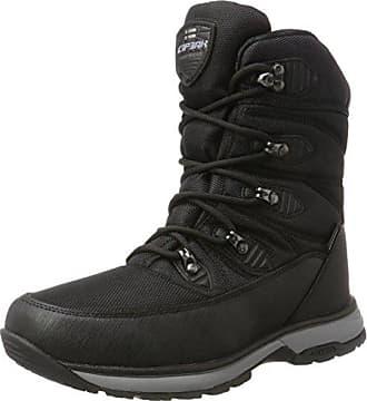Icepeak Wanja, Chaussures Multisport Outdoor Homme, Noir (Black), 44 EUIcepeak