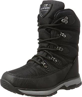 Icepeak Damen Wyatt Sneaker, Schwarz (990 Black), 37 EU