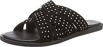 Ichi À Vigdis Fw, Femmes Chaussures, Noir (noir) 10011, 38 Eu