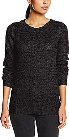 Ichi Mercuna LS, Jersey para Mujer, Beige (MLG Dark Feather Gray 10082), 40(Talladelfabricante:M)