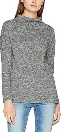 Ichi Embra LS, Jersey para Mujer, Gris (Grey Melange 10020), 38(Talladelfabricante:S)
