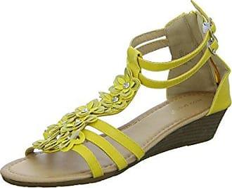 JT-2411 Damen Sandalette Ideal Shoes H3i6vX7Wo3
