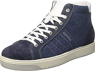 IGI&CO UBK 11088, Zapatillas para Hombre, Azul (Jeans 33), 45 EU