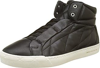Black High Snea, Baskets Hautes Homme, Noir (Noir), 44 EUIkks