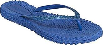 Ilse Jacobsen Damen CHEERFUL01 Zehentrenner, Blau (Dusty Aqua), 41 EU