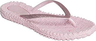 Ilse Jacobsen Damen Glitzer Flip Flop, CHEERFUL01 Zehentrenner, Braun (Club Brown), 40 EU
