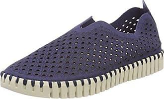 Ilse Jacobsen Damen Sneaker Flach, TULIP3275, Baskets Femme, Noir (Schwarz 001), 37 EU