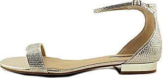 INC International Concepts Frauen Witley Offener Zeh Leger Sandalen mit Keilabsatz Schwarz Groesse 8 US/39 EU n78qC