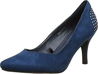 Harrow, Escarpins Bout Fermé Femme, Bleu (Bleu), 36 EUInitiale Paris