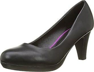 Safora, Zapatos de Tacón con Punta Cerrada para Mujer, Negro (Noir 546), 41 EU Initiale Paris