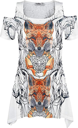 Innocent Lifestyle Feather Drop T Camiseta Mujer multicolores I4XTOaR