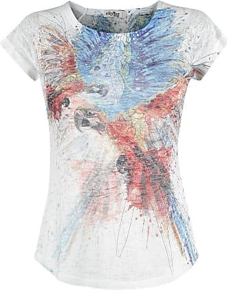 Innocent Lifestyle Colourful Parrot Camiseta Mujer multicolores bukhRqTzzV