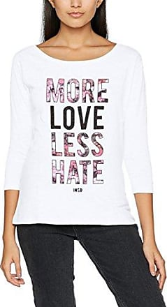 4SPLN73, T-Shirt Femme, Blanc (Blanco 90), MInside