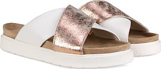 Inuikii Classic Crossed Gold Sandale Grau