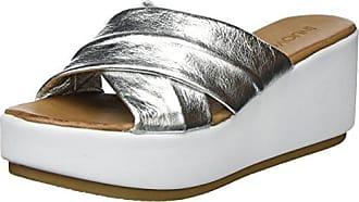 9101, Chanclas para Mujer, Plateado (Silver 16777239), 35 EU Inuovo