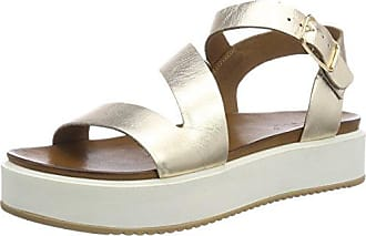 8711, Sandales Bride Cheville Femme, Or (Gold 16779590), 40 EUInuovo