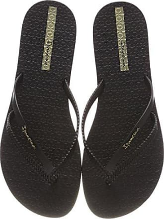 Kirei Fem, Chanclas para Mujer, Multicolor (Black/Gold 8417), 35/36 EU Ipanema