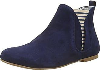 Ippon Vintage Damen Patch-Dots Chelsea Boots, Noir (Noir), 36 EU