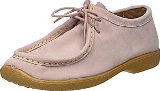 Wala-Week, Zapatos de Cordones Derby para Mujer, Marrón (Taupe Taupe), 40 EU Ippon Vintage