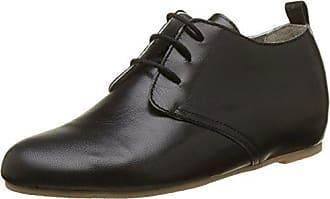 Ippon Vintage BIC-Soul, Zapatos de Cordones Derby para Mujer, Negro (Noir Noir), 37 EU