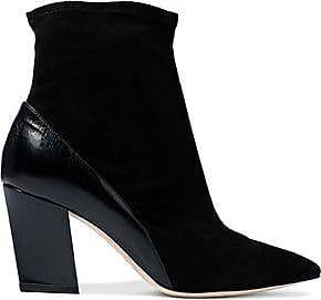 Iro Woman Ruffle-trimmed Suede Pumps Black Size 40 Iro Discounts Sale Online pZ2ocS
