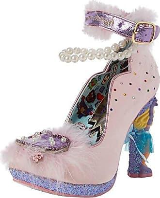 Ascot Zapatos de Tacón con Punta Cerrada Mujer, Negro (Black Satin), 37 (4 UK) Irregular Choice