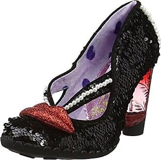 Kanjanka Zapatos de Tacón Mujer, Rojo (Red), 36 EU (3.5 UK) Irregular Choice